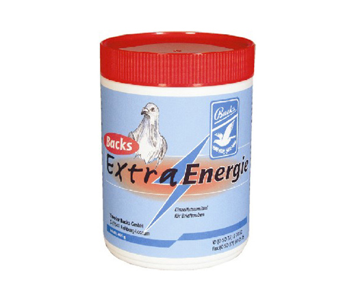 Backs Extra Energy